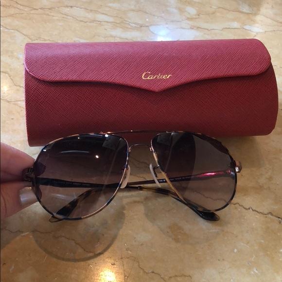 f688664c9fcd Cartier Accessories - Cartier Aviator Sunglasses